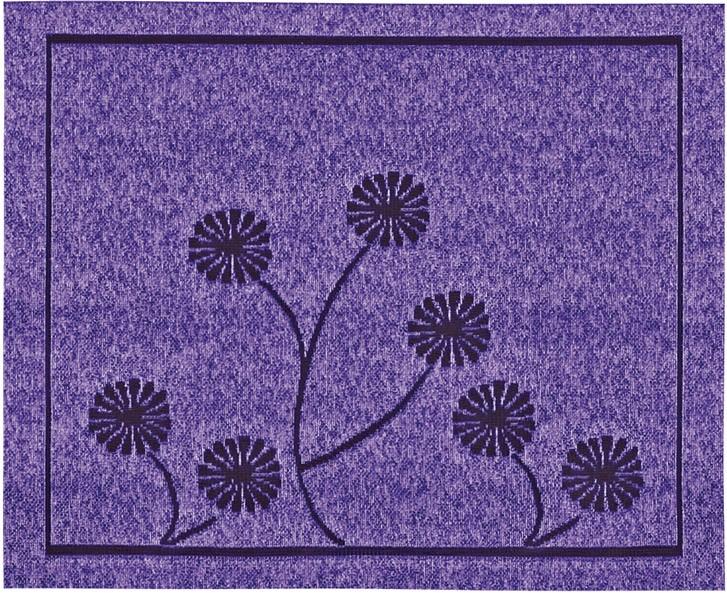 221570/30, салфетка 30 ми * 40 см, цвет - фиолет